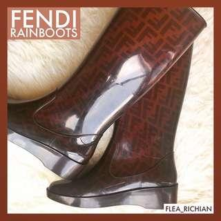 Fendi Rainboots (shoes)