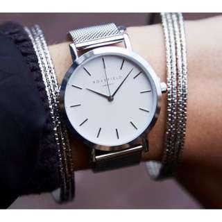 Silver Rosefield Watch