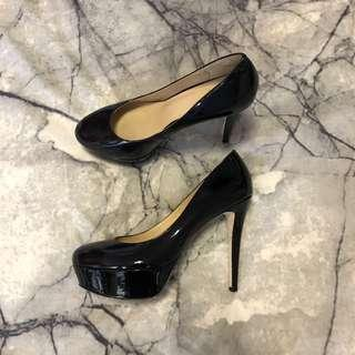 Wittner Black Platform Heels