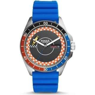 Limited Fossil Men's CH3053 'sport 54' Blue Silicone Watch