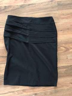 La Vie black pencil skirt