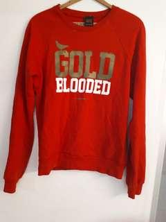 Re longsleeve sweater gold blooded