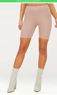 Taupe cycling shorts