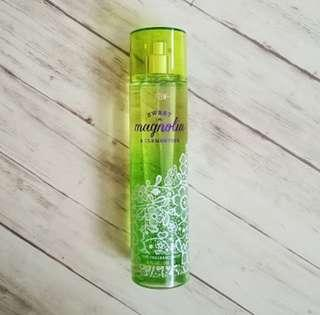 Bath & Body Works Fine Fragrance Mist (Sweet Magnolia & Clementine)