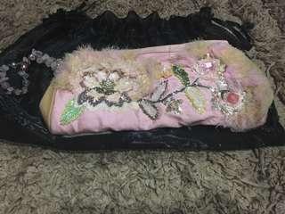 Sale Clutchbag Manik Pink