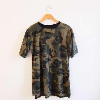 Camo Shirt Dress (DOTS-inspired)