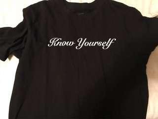 OVO Know Yourself T-shirt Large