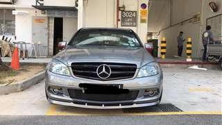 W204 grille