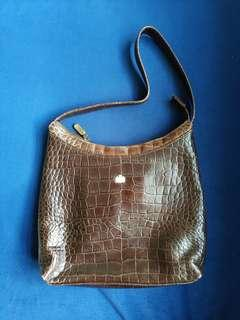 Wittchen Brown Leather Hand Bag