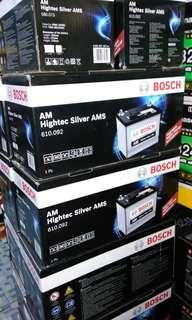 Bosch Car Battery PJ KL