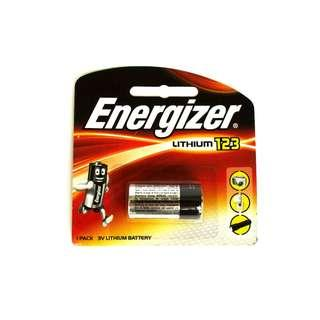 🚚 Energizer CR123 CR123A 3V Lithium Battery