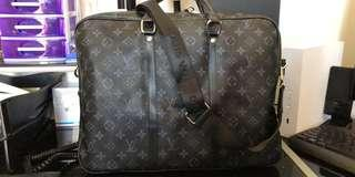 Louis Inspired Briefcase