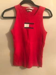 Vintage Tommy Hilfiger Knit Sleeveless Top - small