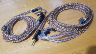 極級 7N冷凍退火單晶銅 耳機線 升級線 Jh audio Lola JH13 JH16 ROXANNE Angie Layla Rosie
