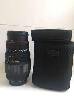 Sigma lens Nikon mount 70-300mm