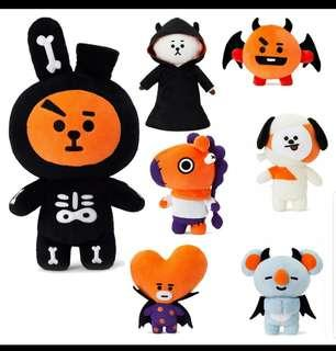 BT21 Halloween Plush dolls 🎃