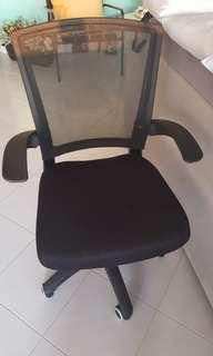 Office Chair & Wooden Hanging