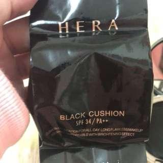🚚 韓國親自帶回Hera黑金氣墊粉餅補充包21號