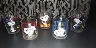 Snoopy Glasses Bundle of 5