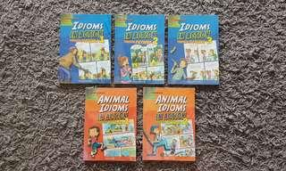 Assorted Idioms in Action Books