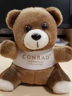 Conrad Singapore Teddy Bear (~5.5 inch)