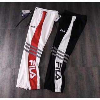 FILA reflective pants