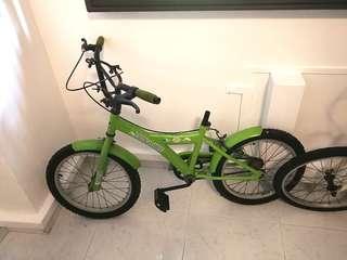 Bicycle used 15 inch wheel rim