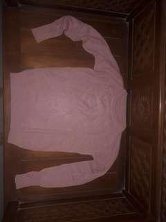 Sweater knit pink salem