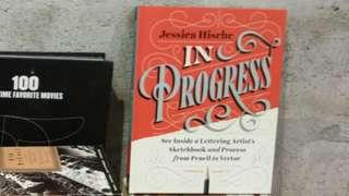Lettering Book: In Progress by Jessica Hische