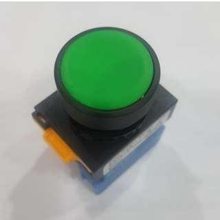 Green Push Button Switch Maintained IP66