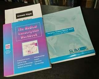 SUM Program for MT Training: The Medical Transcription Workbook + Surgery Transcription Book