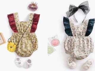 Jumpsuit for baby girl/ onesie dress