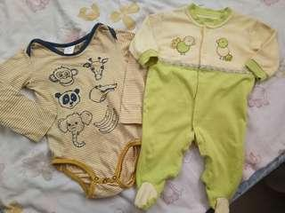 Bundle H&M and Juniors Frogsuit