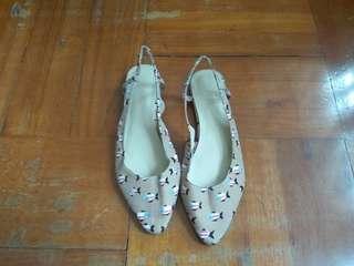 女裝魚仔圖案平底鞋(40碼)