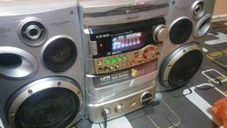 Radio hi fi pioneer 3000watt