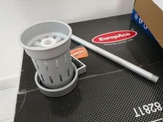Brand new toilet brush fixture