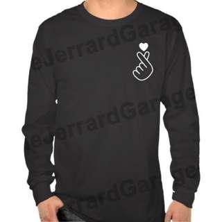 Saranghae Long Sleeve T-Shirt