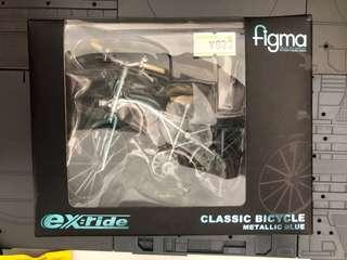 Figma classic bicycle metallic blue
