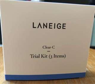 Laneige Clear C trial kit