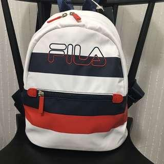 🆕 Fila Men Women Tri Colour Unisex Casual Backpack