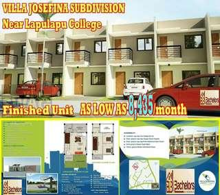 Affordable House and Lot Near Lapulapu College
