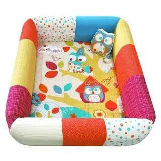 Lucky Baby 2-1inflatable play mat