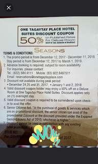 Repriced Tagaytay Voucher!!
