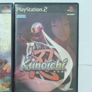 送順豐智能櫃 Kunoichi (忍) Sony PS2 PlayStation2 DVD GAMES遊戲碟 日本正版有盒珍藏