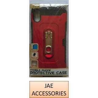 Y2K AntiShock Armor Card Case + stand for Samsung Note 9 Etc