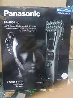 PANASONIC AC/RECHARGEABLE BEARD/ HAIR TRIMMER