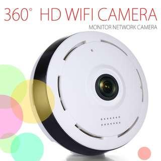 Warehouse Sale - 360 Panoramic WiFi IP Camera  Night Vision