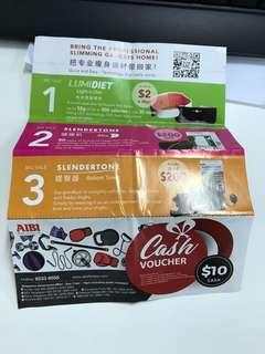 AIBI $10 voucher selling at half price no expire