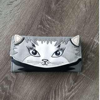 Cat Long Wallet