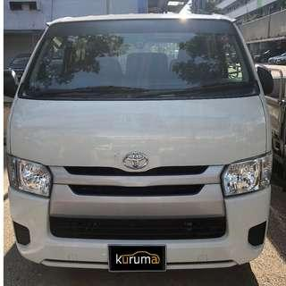 HIACE FOR RENT!!!